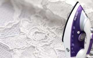 Как правильно гладить тюль после стирки