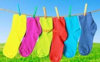 Как стирать носки вручную и в стиральной машине