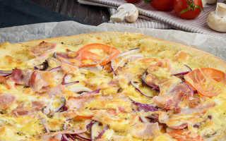 Секреты приготовления пиццы от Шеф повара