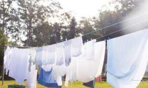 Как быстро высушить одежду в домашних условиях