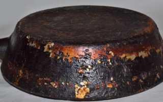 Чистка сковород от застарелого нагара: чем очистить, средства и методы удаления слоя гари