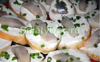 Бутерброды с сельдью на праздничный стол: рецепты с фото (простые и вкусные)