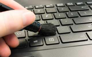 Как разобрать клавиатуру на ноутбуке и компьютере и почистить, как собрать после чистки обратно