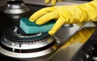 Как почистить газовую конфорку в домашних условиях