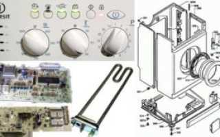 Ремонт стиральной машины «Индезит» своими руками: диагностика неисправностей, возможные неполадки