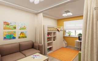 Деление детской комнаты на зоны: советы