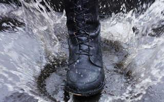 Как быстро высушить промокшую обувь внутри и снаружи