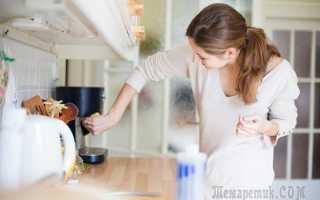 Постоянная чистота на кухне: 8 лайфхаков