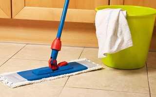 Чем мыть плитку на полу, чтобы не было разводов