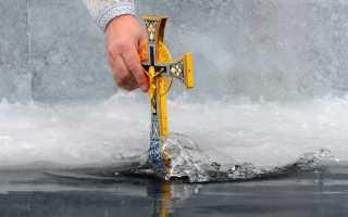 Крещенская вода из-под крана когда набирать, правда ли