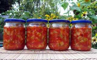 Кабачки в томате на зиму, обалденный рецепт без стерилизации