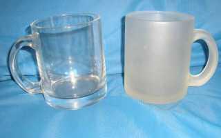Как сделать стекло матовым в домашних условиях своими руками: эффективные способы