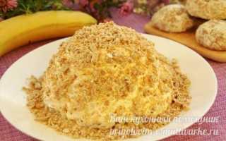 Торт за 10 минут без выпечки, всего из 3-х ингредиентов, пошаговый рецепт