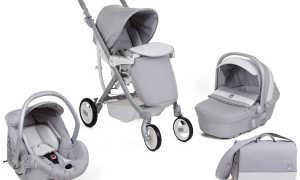 Как правильно выбрать детскую коляску: советы