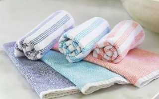 Как отбелить кухонные полотенца в домашних условиях?