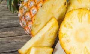 Как разделать ананас в домашних условиях: фото пошагово