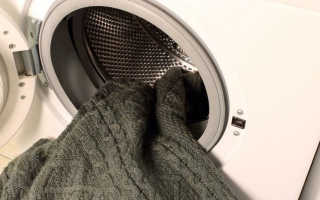 Как стирать акриловый свитер: в машинке, вручную, чтобы он не растянулся