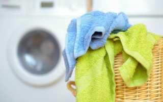Как отстирать махровые полотенца застиранные: в стиральной машине, с помощью нашатырного спирта