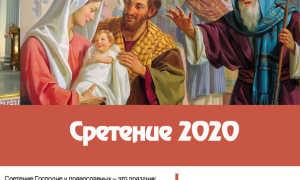 Сретение Господне – какого числа в 2020 году: дата