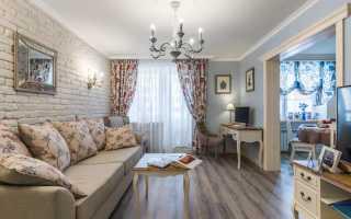 Гостиная в стиле прованс: 75 фото идей