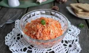 """Салат """"Рыжик"""", классический рецепт с фото пошагово"""