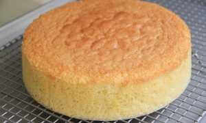 Бисквит, который получается всегда: рецепт с фото пошагово