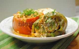 Перец фаршированный мясом и рисом, рецепт с фото пошагово в кастрюле