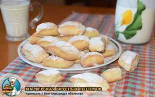 """Печенье """"Тающий снег"""" – это просто бомба: пошаговый рецепт с фото"""