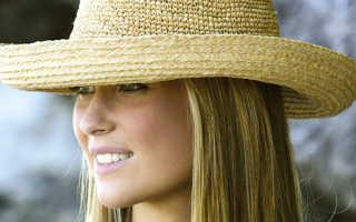 Как почистить соломенную шляпу в домашних условиях