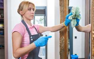 Как почистить и помыть зеркало без разводов в домашних условиях