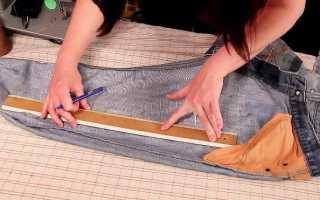 Как ушить брюки: в поясе, по бокам, по среднему шву, как ушить, как заузить