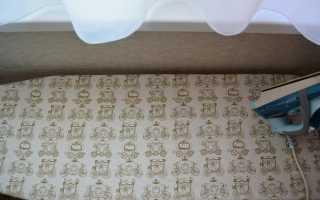 Как сшить чехол для гладильной доски своими руками: выкройка, расчет, мастер-класс