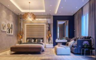 Современные тенденции для дизайна спальни в 2020 году Дизайн спальни: фото 2020, современные идеи, обои двух цветов