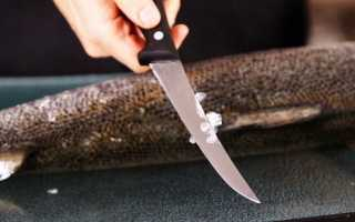 Как быстро почистить рыбу от чешуи в домашних условиях