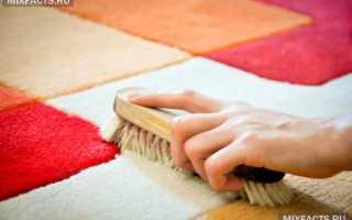 Как почистить ковер в домашних условиях быстро и эффективно, в квартире