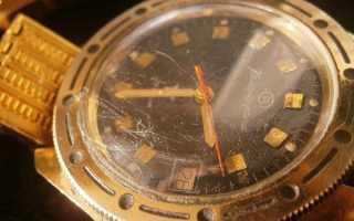 Как отполировать стекло на часах и чем убрать царапины