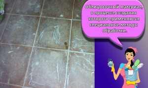 Как отмыть кафельную плитку после ремонта: быстрые способы