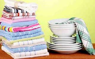 Кухонные полотенца в микроволновке: как отбелить или отстирать, отзывы