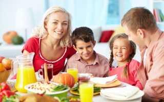 Меню на неделю для семьи из 3 человек: как составить список продуктов, рецепты