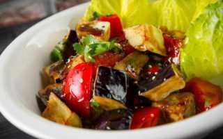"""Салат из жареных баклажанов """"Вкуснотища"""" на каждый день с яйцом"""