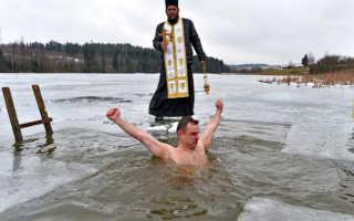 Когда купаются в проруби на Крещение 2020 – сколько дней купаются и ныряют на Крещение