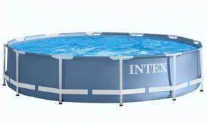 Где и как хранить каркасный бассейн Интекс зимой