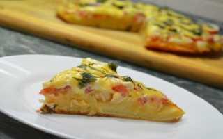 Пицца на сковороде за 5 минут – быстрый рецепт пиццы с фото пошагово