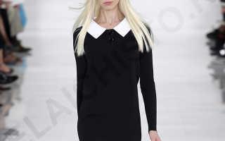 Как отбелить белый воротник на черном платье: правила отбеливания с фото