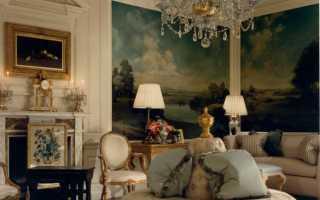 Настенная живопись в современном интерьере
