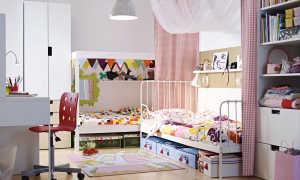 Детская в стиле Икеи: интересные идеи, реальные фото, советы по использованию детской мебели в комнате