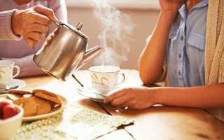 Можно ли пить чай после еды: мнение специалистов