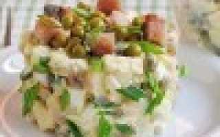 Салат со скумбрией, пошаговый рецепт с фото