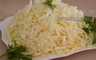 """Салат """"Лебединый пух"""": нежный и вкусный на скорую руку"""