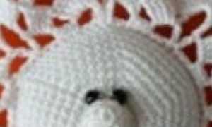 Вязаные снежинки крючком простые и красивые: со схемами и описанием с фото